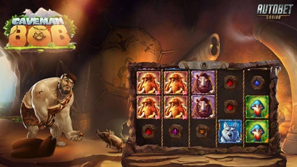 Caveman Bob Slot เกมสล็อตที่จะดึงดูดความสนใจพร้อมพาเข้าสู่โหมดมนุษย์ถ้ำ